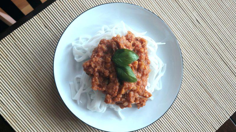 VEGEbolognese – dla każdego mięsożercy i nie tylko